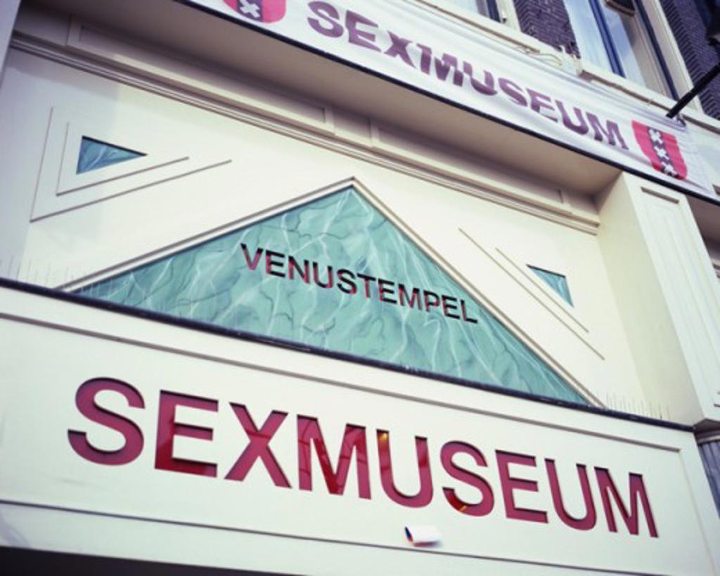 Stock Photo: 1408-626 Sexmuseum Amsterdam Netherlands