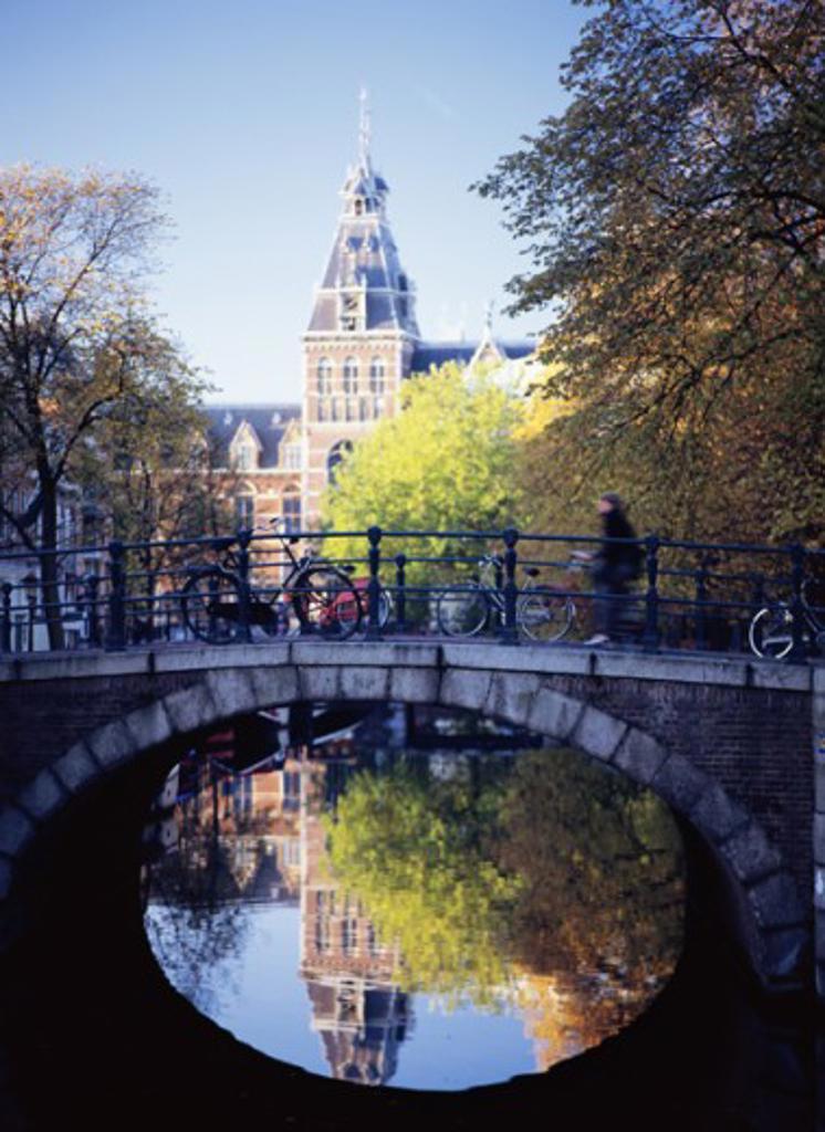 Stock Photo: 1408-641 Rijksmuseum Amsterdam Netherlands