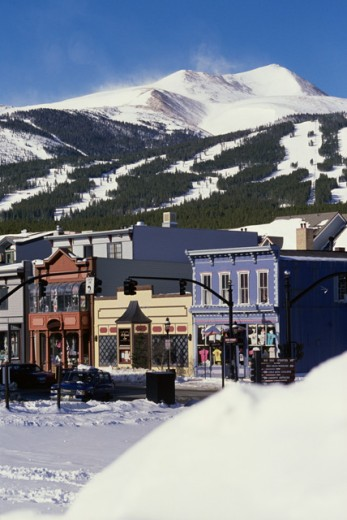 Stock Photo: 1417-272 Breckenridge