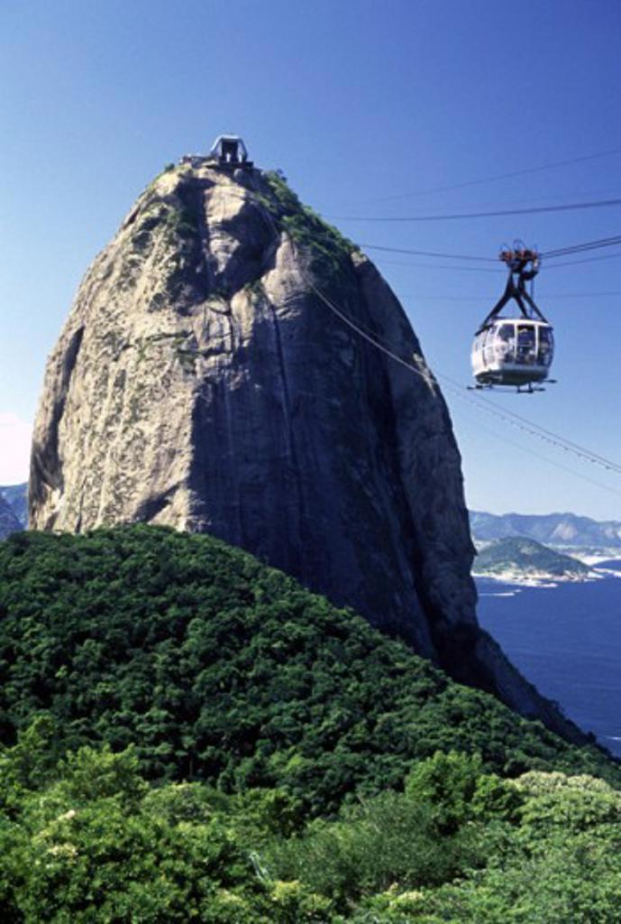 Stock Photo: 1417-470A Sugar Loaf Mountain  Rio de Janeiro Brazil