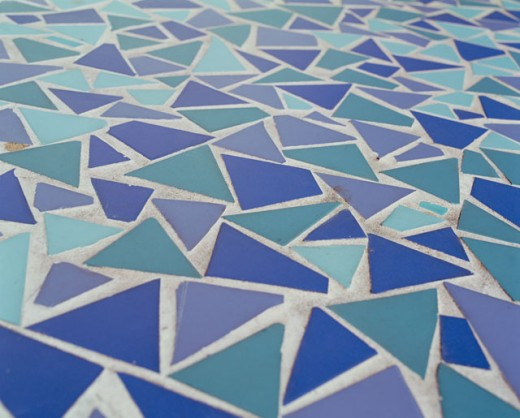 Stock Photo: 1422-286 Close-up of a tiled floor