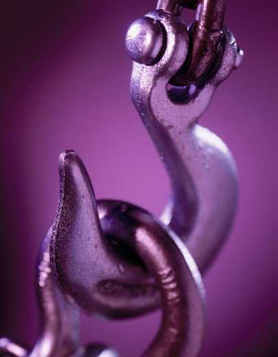 Stock Photo: 1422-304 Close-up of a hook