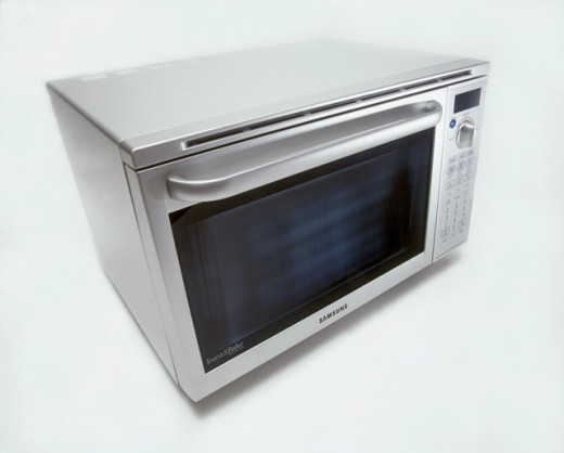 Stock Photo: 1422-461 Close-up of a microwave