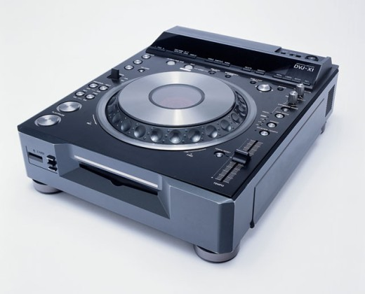 Pioneer DVJ-X1 DVD Turntable : Stock Photo