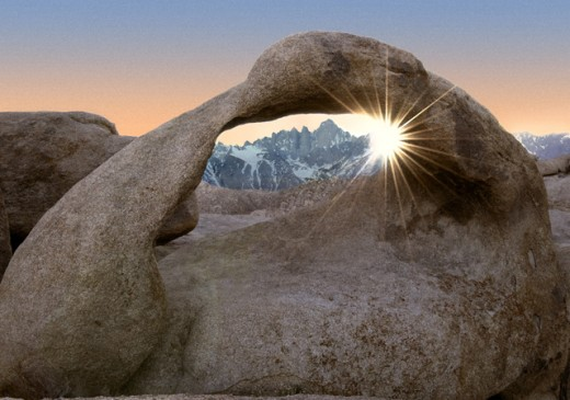 Stock Photo: 1432-157 Alabama Hills