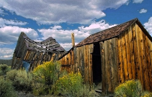 Stock Photo: 1432-160 Bodie State Historic Park