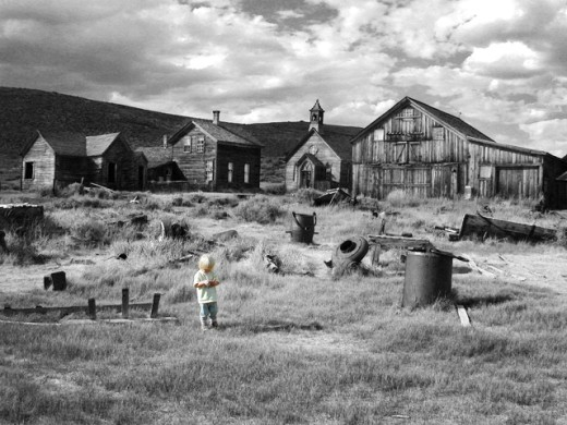 Stock Photo: 1432-163 Bodie State Historic Park