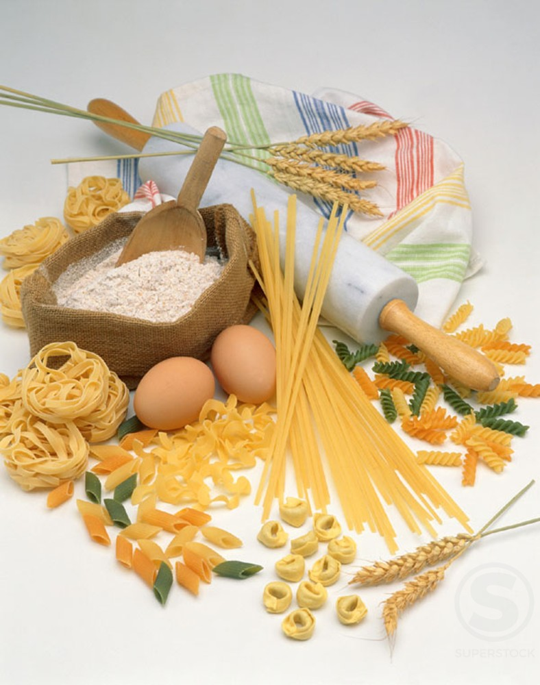 Stock Photo: 1436R-115044 Pasta