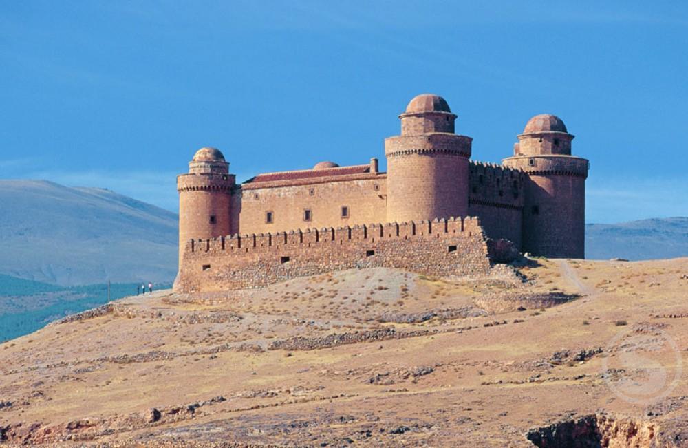 Lacalahorra Castle Spain : Stock Photo