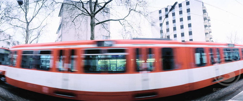 Stock Photo: 1436R-121072 Streetcar. Cologne. Germany