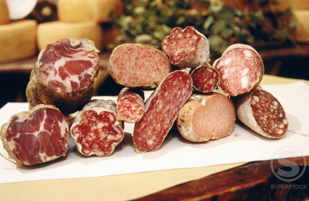 Salami : Stock Photo