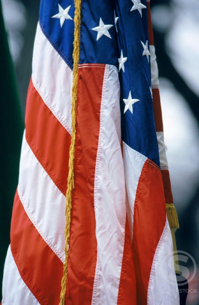 Flag of the United States of America : Stock Photo