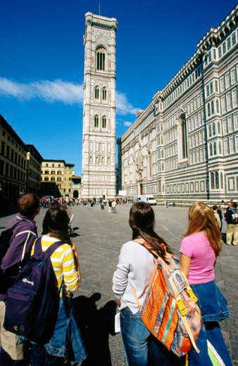 Giotto´s Campanile Florence Italy : Stock Photo