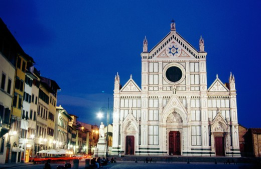 Stock Photo: 1436R-160031 Santa Croce Church