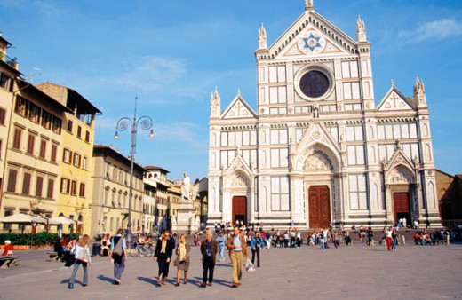 Stock Photo: 1436R-160039 Santa Croce Church