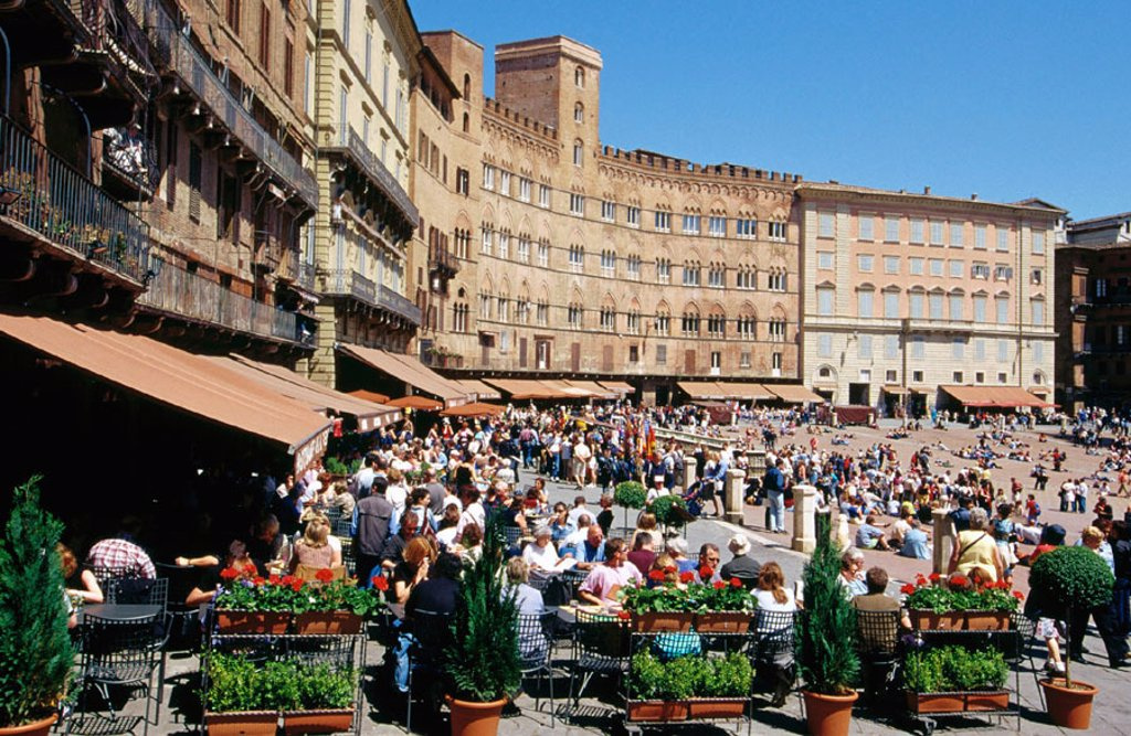 Stock Photo: 1436R-160082 Piazza del Campo