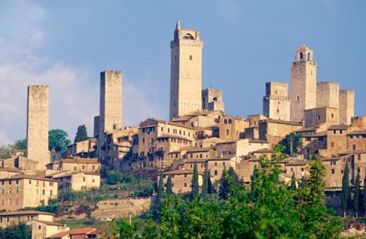 San Gimignano Italy : Stock Photo