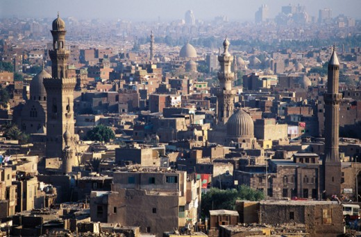 Stock Photo: 1436R-16012 Cairo Egypt