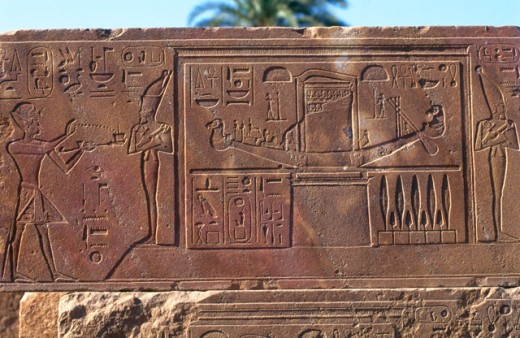 Stock Photo: 1436R-16057 Temple of Karnak