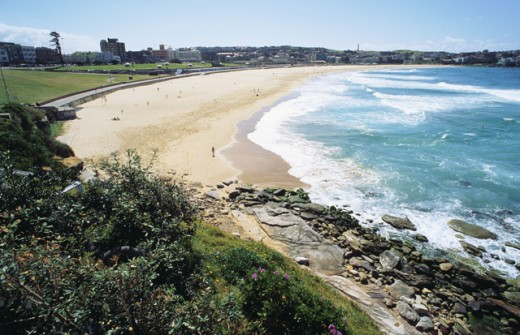 Stock Photo: 1436R-165060 Bondi Beach Sydney Australia
