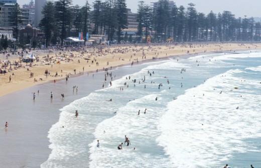 Manly Beach Sydney Australia : Stock Photo
