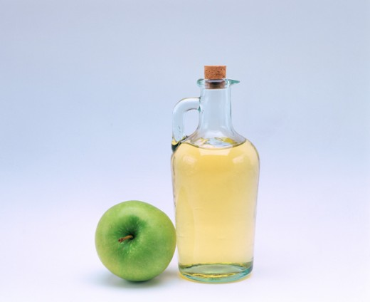 Apple vinegar : Stock Photo