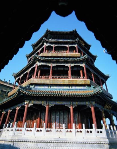 Stock Photo: 1436R-190015 Summer Palace Beijing China