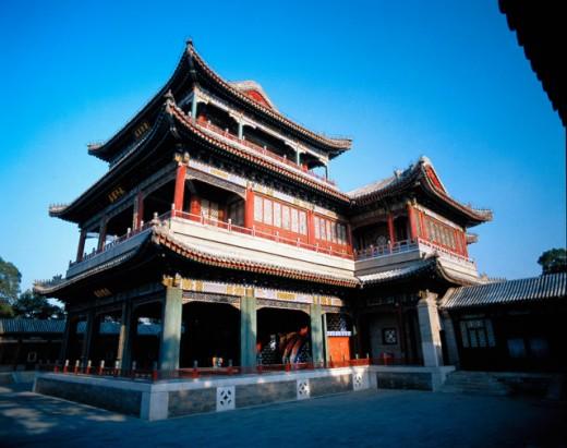 Stock Photo: 1436R-190017 Summer Palace Beijing China