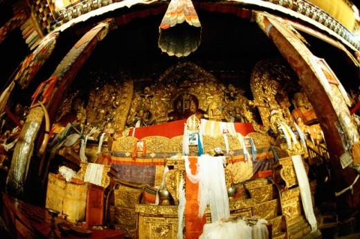 Stock Photo: 1436R-190077 Potala Palace Lhasa Tibet