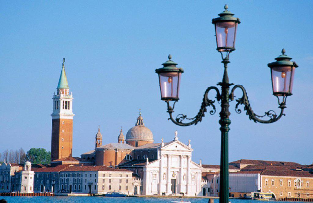 Stock Photo: 1436R-194013 San Giorgio Maggiore Venice Italy