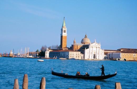 San Giorgio Maggiore Venice Italy : Stock Photo