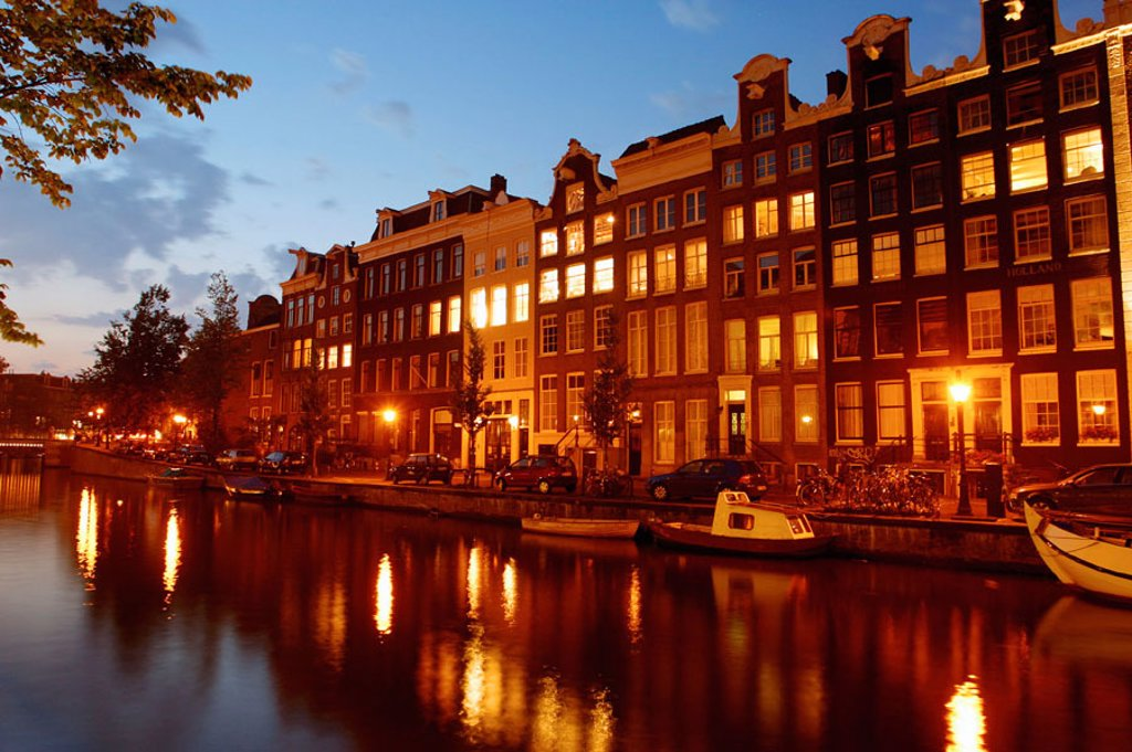 Stock Photo: 1436R-197050 Amsterdam