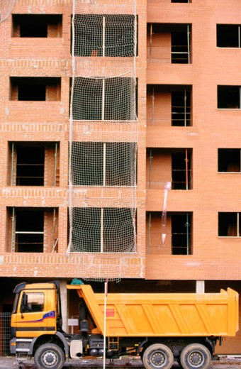 Housing construction. Getafe. Madrid province. Spain : Stock Photo