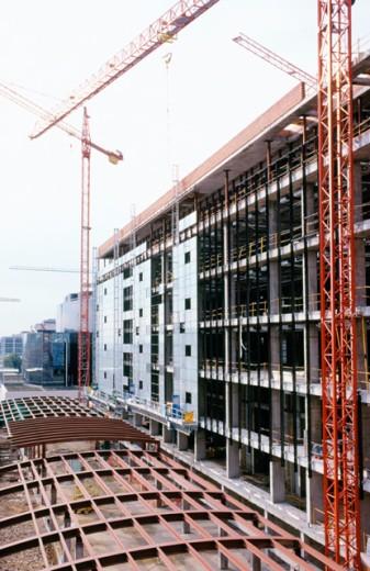 Stock Photo: 1436R-205097 Office building construction. Campo de las Naciones. Madrid. Spain