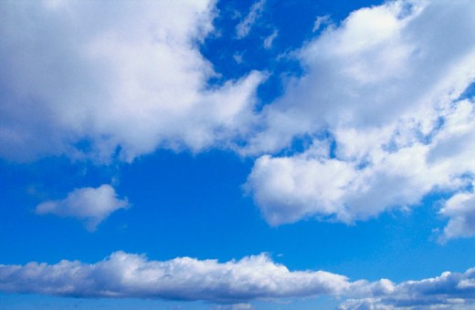 Stock Photo: 1436R-22008 Clouds