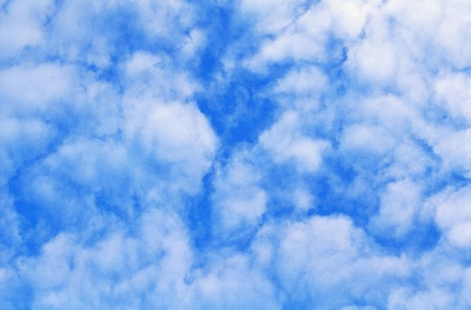Stock Photo: 1436R-22038 Clouds