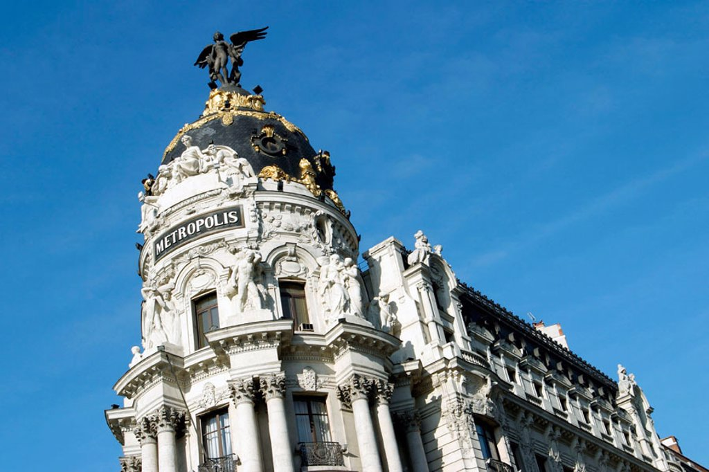 Stock Photo: 1436R-225011 Metropolis Building