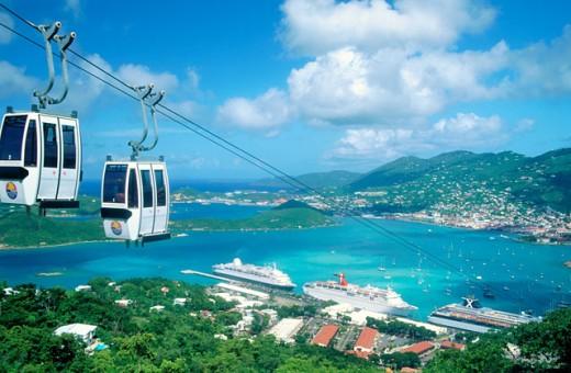 Charlotte Amalie St. Thomas : Stock Photo