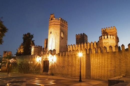 Castle of San Marcos (13th century), Puerto de Santa María. Cádiz province, Andalusia. Spain : Stock Photo