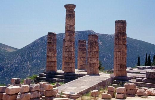 Delphi. Greece. : Stock Photo