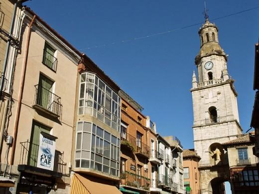 Stock Photo: 1436R-249558 Clock tower in Main Square, Toro. Zamora province, Castilla-León, Spain