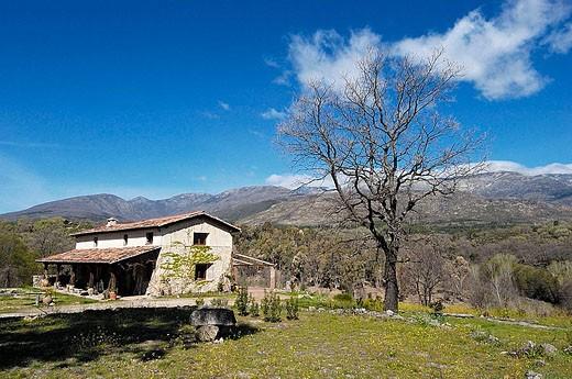 Landscape, Villanueva de la Vera. Cáceres province, Extremadura. Spain : Stock Photo