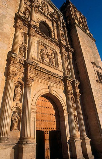 Santo Domingo de Guzmán Church, Oaxaca. Mexico : Stock Photo