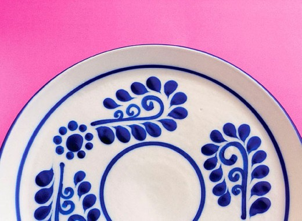 Stock Photo: 1436R-256005 Talavera (type of majolica earthenware). Puebla, Mexico