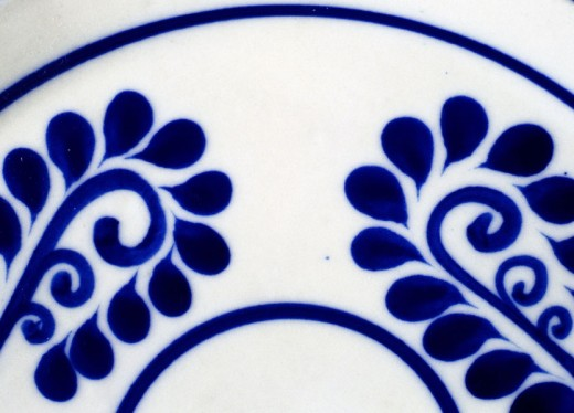 Talavera (type of majolica earthenware). Puebla, Mexico : Stock Photo