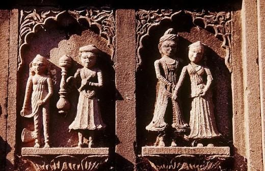 Maheshwar. Madhya Pradesh, India : Stock Photo