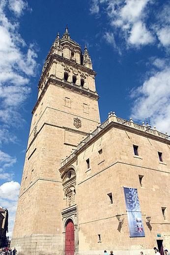 Stock Photo: 1436R-263051 Cathedral, Salamanca. Castilla-León, Spain
