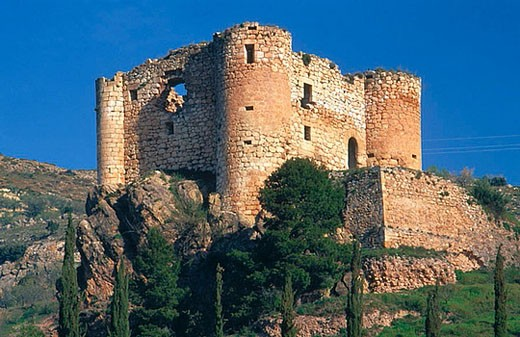 Stock Photo: 1436R-265878 Castle, Huelma. Jaén province, Andalusia, Spain