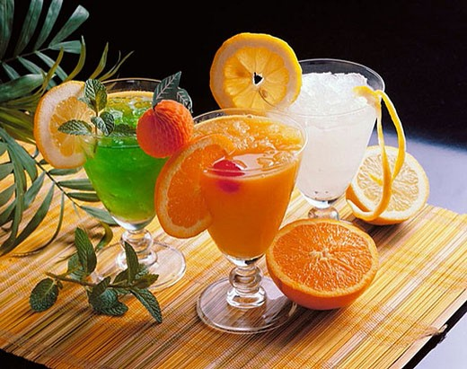 Iced drinks : Stock Photo
