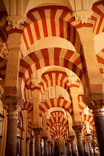Stock Photo: 1436R-270898 Great Mosque, Cordoba. Andalusia, Spain